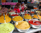 Kuchnia tajska: curry na placu targowym