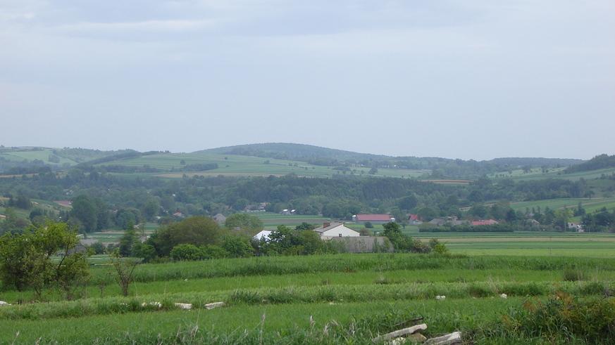 Panorama Kaliny od strony zachodniej