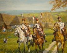 Patrol jazdy krakowskiej z 1831 r.