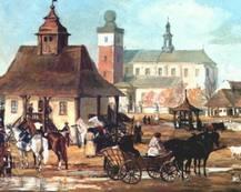 Rynek miechowski w XVIII w