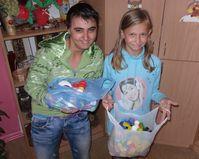 Natalia Lasecka kl. I b PG i Paulina Gąsińska kl. V b