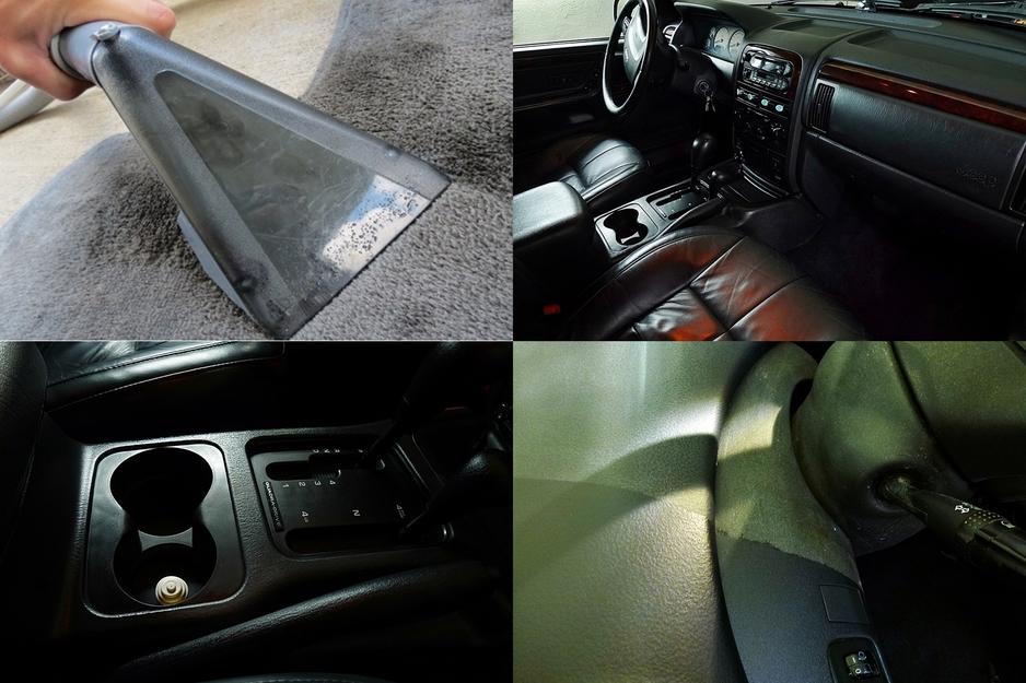 Detailing wnętrza: Jest to proces oczyszczenia, pielęgnacji i regeneracji wszystkich części wnętrza pojazdu. Począwszy od elementów gumowych, winylowych i drewnianych na skórzanych kończąc. Wszystkie elementy są kilku etapowo oczyszczane, a następnie zabezpieczane najwyższej, jakości środkami zapewniającymi najlepszy stopień odżywienia.