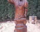 Rzeźba Kowal wysokość 210cm