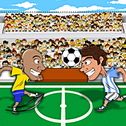 Funny Soccer to gra sportowa HTML5. Wybierz swoją ulubioną drużynę piłkarską i kopnij piłkę w sieć!
