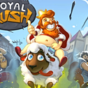 Zbieraj monety, kupuj ulepszenia i zbieraj jak najwięcej monet w Royal Rush. Ładna gra Endless-Runner.