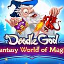 Smoki, Czarnoksiężnicy i Czarodzieje ... wejdź w niesamowity świat Fantasy i Magii od ludzi, którzy przynieśli ci Doodle Boga. Połącz i dopasuj setki elementów ze świata fantazji, począwszy od smoków, poprzez mroczną magię, a skończywszy na czarnoksiężnikach. Bądź potężnym czarodziejem!
