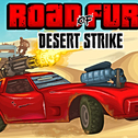 Dołącz do Rass w ważnej misji dla Corp. Fight of the Horsemen gang, który rządzi pustkowiem i pokonaj ich szefa Duke'a Mo. Corp nie ma w tej chwili wolnych funduszy, ale płaci za każdego zabitego wroga. Zatrudnij kierowców i ulepsz swój sprzęt. Road of Fury Desert Strike to nowa Droga Furii i bardziej wściekła niż kiedykolwiek wcześniej!