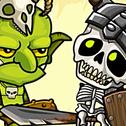 Gobliny Szkielety VS to prosta gra z kranem ... dotknij w prawo goblinów, aby dostać się do wnętrza jaskini i dotknij lewej, aby szkielety mogły wskoczyć do wody. Graj szybko i spróbuj uzyskać więcej punktów w określonym czasie ... czasomierz rośnie z punktami.