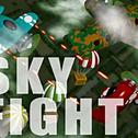 Witamy w skyfight.io grą przeglądarkową dla wielu graczy. Steruj myśliwcem, próbując zniszczyć samoloty innych graczy. Każdy zawodnik wyposażony jest w podstawowe karabiny maszynowe, które można tymczasowo ulepszyć, łapiąc spadochrony, ulepszenia manewrowania, tarcz, prędkości i Kamikaze. Zestrzel jak najwięcej samolotów, zwiększając swój wynik i stopień, im więcej postępów w szeregach, tym więcej funkcji, takich jak gry niestandardowe i zespołowe, będą dostępne.
