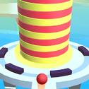 Fire Balls 3D to gra o swobodnej piłce, w której Twoim celem jest zniszczenie wieży z różnych geometrycznych kształtów kulami ognia, unikając przeszkód.