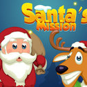 Misja - Święty Mikołaj to gra specjalnie na Boże Narodzenie, z fantastyczną grafiką i słodką muzyką, nigdy nie dostaniesz tej gry wystarczająco dużo!