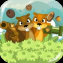 Forest Brothers to wyjątkowa gra, w której kontrolujesz jednocześnie dwie urocze wiewiórki, aby dotrzeć do magicznego miejsca w grze, aby wygrać. Ale musisz to zrobić w ograniczonym czasie. Twój wynik to zero, jeśli przegrasz grę. Zbierz jak najwięcej monet, ponieważ mają one znaczenie dla kwaśnego wyniku, jeśli wygrasz grę!  Sterowanie na PC: W, A, S, D i klawisze strzałek. Sterowanie dotykowe działa we wszystkich przeglądarkach i na wszystkich urządzeniach mobilnych!