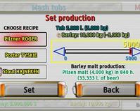 ustawianie produkcji