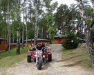 Przejażdżka po ośrodku z Marchewą z Jarocina.