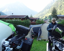 Poranek - już za chwilę jedziemy na Großglockner
