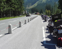 Przyjazny parking tylko dla motocyklistów