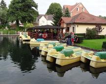 Wypożyczalnia rowerów wodnych - inna strona Łagowa