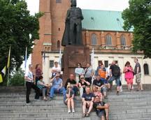 wracamy do Gniezna gdzie zwiedzamy katedrę