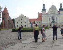 Na drugi dzień jedziemy do Strzelna - zwiedzamy zabytkowy kościół