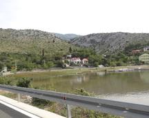 Droga do Zadaru - i lokalna zabudowa