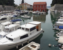 Stateczki w Zadarze