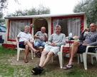 Wynajeliśmy gotowe rozstawione już namioty na campingu Weekend ( jez. Garda )