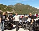 Nad jez. Garda wybraliśmy się na wycieczkę - 180km ale trasa na cały dzień.