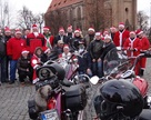 Pamiątkowa fotka przed wyjazdem w Mikołajową trasę.