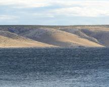 Księżycowy krajobraz wyspy Pag