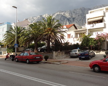 Typowa Makarska uliczka