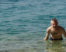 Idziemy do Baska Voda - wspaniała plaża i pływak też . . .
