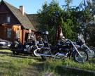 Pod wieczór odwiedzają nas motocykliści z Kaszub