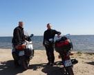 Arek i Tomasz na Półwyspie helskim
