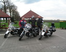 Nasze motocykle: Przemo Suzuki VZ 800 Marauder, Borko i Wuja Suzuki VL 800 Volusia.