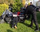 Pasowanie młodych na motocyklistów