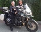 Ela i Grzegorz Triumph Tiger Explorer