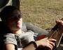 Basia grająca na ukulele