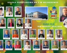 Klasa III A 2014/15