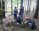 Wsyscy szukali okazów do sali przyrodniczej