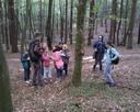 W lesie staraliśmy się być cicho, aby nie spłoszyć zwierząt