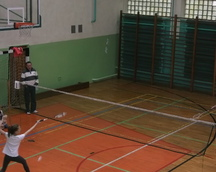 Turniej Młodych Adeptów Badmintona - Częstochowa 29.09.2013