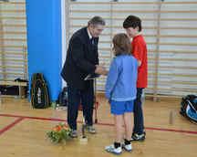 Turniej Badmintona Katowice 11.01.2014