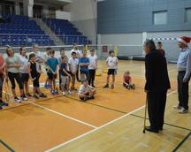 8.12.2016, Oficjalne rozpoczęcie Mikołajkowego Turnieju BKS Kolejarz Katowice