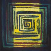 Kompozycja z ornamentem, akryl, 100x80, 2012r.