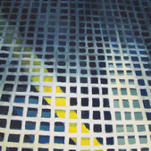 Pod kratą, akryl, 100x70, 2012r.