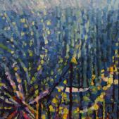 Zlot żaglowców 2013, akryl, karton, 100x70
