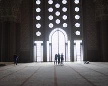 Casablanca - wnętrze meczetu