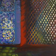 Impresja marokańska II, akryl, 100x50