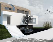 nowoczesny dom w Bochni
