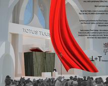 projekt wnetrza kościoła